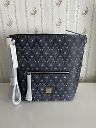 2020 Disney Parks The Haunted Mansion Wallpaper Hobo Bag Dooney And Bourke New