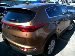 Passenger Rear Side Door Privacy Tint Glass Fits 17-19 Sportage 376419