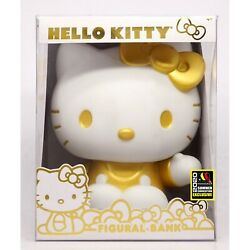 Sdcc 2020 Limited Edition 250 Made Sanrio Hello Kitty Gold Figural Bank Sold Out
