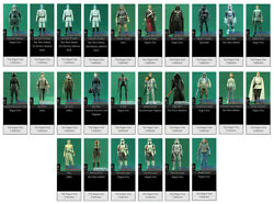 Lot Collection Complandegravete 26 Figurines Hasbro Star Wars Rogue One 3.75 Inch Neuf