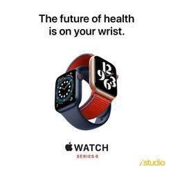 Apple Watch Series 6 40mm Gps Aluminium Case With Sport Band -new Sealed