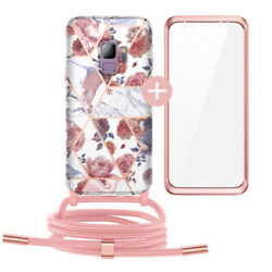 Case Cover with Neck Lanyard Cord Strap Crossbody for Samsung S10 iPhone Huawei $11.90