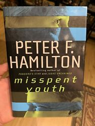 Misspent Youth Hamilton, Peter F. Hardcover Collectible Sci-fi Action
