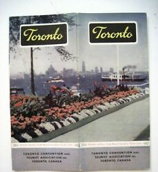 Charming Vintage Travel Brochure For Toronto W/ History And Many Pictures