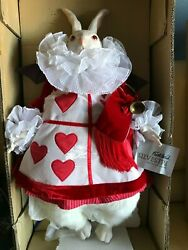 Amazing Faith Wick 1985 30 In White Rabbit By Silvestri Real Fur Handpainted