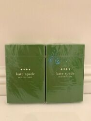 Kate Spade Playing Cards 2 Individually Sealed Decks Hard To Find