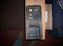 1985 Ford Thunderbird Console Tray And P/sp/w Switch Bezel