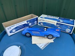 Schylling Toys Bluebird Sir Ianand039s Land Speed Record Car Tin Toy Wind Up Toy