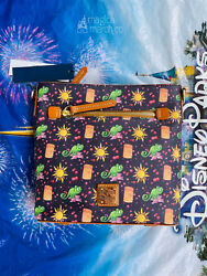 2020 Disney Parks Dooney amp; Bourke Tangled Rapunzel Crossbody 10th Anniversary $249.95