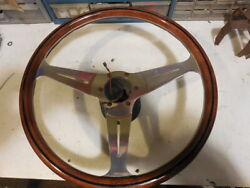 Classic Nardi 15 Inch Steering Wheel With Vintage Mercedes Adapter