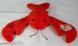 Ty Beanie Baby Pinchers The Lobster Rare- Vintage- Mint Condition- 1993 Pvc
