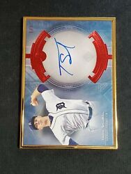 2020 Bowman Trancendent Variation Autographs Red True 1/1 Tarik Skubal R6220j