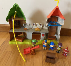 Mike The Knight Glendragon Castle Playset Fisher Price 2012 And Figures Lot