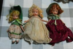 3 5quot;Vintage Bisque Nancy Ann Storybook Dolls