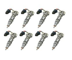 03-10 Ford 6.0 6.0l Powerstroke Diesel +30 Nozzle Performance Fuel Injector Set