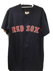 """Majestic Red Sox """"george Boomer Scott"""" Throw Back Jersey- Small-lightly Worn"""