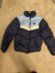 Mens Fred Perry Down Jacket Coat Size Small $100.00