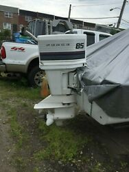 Good Used Force 85 Hp 3-cyl Carbureted 2-stroke Outboard Motor