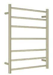 Nero Towel Laddersr 800x600x128mm Stainless Steel Easy To Install Brushed Gold