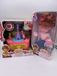 Disney Junior Fancy Nancy Doll And Toy Music Box Lot Of 2
