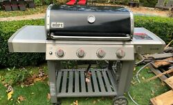 Weber Genesis Ii E-410 Gas Grill With Cover