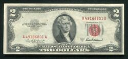 21 Consecutive 1953-a 2 Legal Tender United States Notes Uncirculated