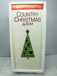 Country Christmas Album Music Cd Set - 1996 Mca 2000 Sony Collectables Records