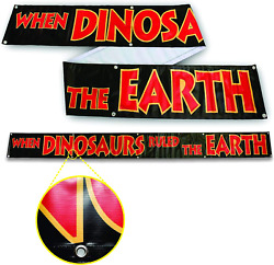 When Dinosaurs Ruled The Earth Banner - 1x10