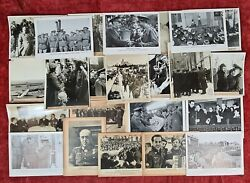 23 Photographs Of The Ii World War. Blue Division. Germany. Years 40.