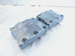 Harley Polished Twin Cam Touring Dyna And Softail Cylinder Head Cover Rocker Boxes