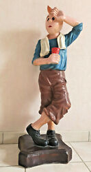 Rare Great Statue Tintin 35in Deco Loft Collection Tintinophile