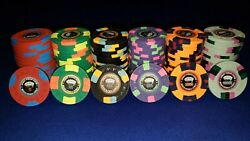 Cpc/asm 600 Real Clay Custom Casino Quality Poker Chips