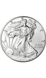 2020 1oz Silver Eagle Coin Brilliant Uncirculated .999 Fine Silver $32.50