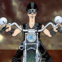 Rob Halford By Anthony Parisi Limited Edition Print