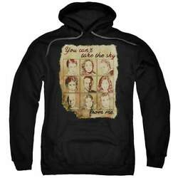 Firefly Burned Poster Pullover Hoodie