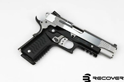 Recover Tactical Cc3 H 1911 Grips And Rail System Black