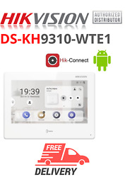 Hikvision Ds-kh9310-wte1 7-inch Monitor Android Indoor Station Standard Poe New