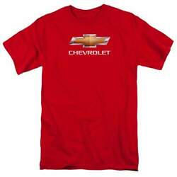 Chevrolet Chevy Bowtie Stacked Menand039s Regular Fit T-shirt
