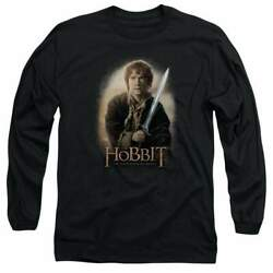 The Hobbit Bilbo And Sting Menand039s Long Sleeve T-shirt