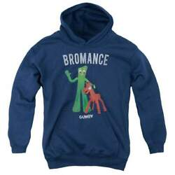 Gumby Bromance Youth Hoodie Ages 8-12
