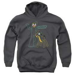 Gumby Outlines Youth Hoodie Ages 8-12