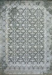 9'x12' Rug | Modern Luxury Hand Knotted Wool And Viscose High Low Multi