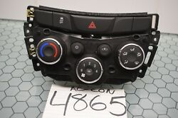17 18 19 Chevrolet Trax Ac And Heater Control Used Stock 4865-ac