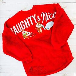 New 2020 Disney Park Epcot Festival Of The Holidays Chip And Dale Spirit Jersey 2x
