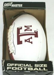 Texas A And M Aggie Game Master Official Size Football Aggies Ncaa Sec Vintage
