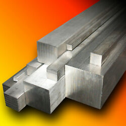 Square Bar Grade 304 Stainless Steel Any Size Any Length