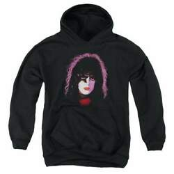 Kiss Paul Stanley Cover Youth Hoodie Ages 8-12