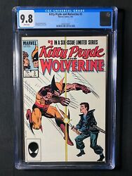 Kitty Pryde And Wolverine 3 Cgc 9.8 1985