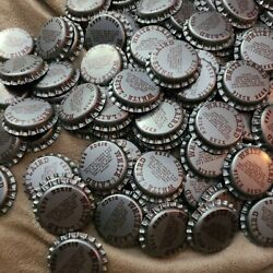 Lot Of 100 White And Laird Birch Beer Bottle Caps Drink Beverage Crafts