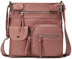 KL928 Crossbody Purses for Women Shoulder Bag PU Washed Leather $40.99